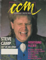 Contemporary Christian Magazine (CCM) - 1986 November - Steve Camp, Allies, Omartian, Mustard Seed Faith [Magazine]