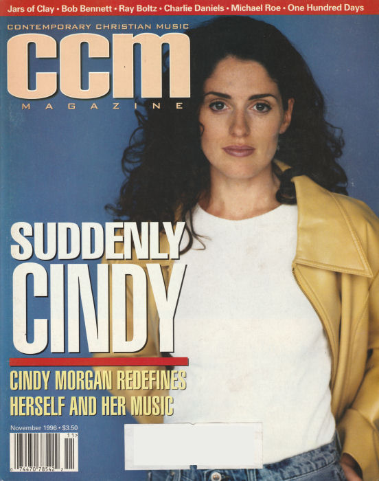 Contemporary Christian Magazine (CCM) - 1996 November - Cindy Morgan, Bob Bennett [Magazine]