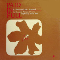 Owens Ron And Patricia - Paid In Full; A Resurrection Musical [LP]