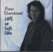 Shambrook, Peter - Live At Cafe Lido [CD]