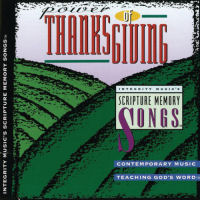 Scripture Memory Songs - Power Of thanksgiving [CD]